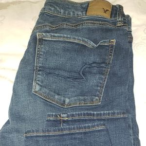 American eagle skinny jeans  size 14 short